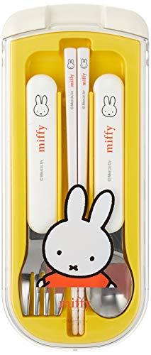 クツワミッフィートリオセットホワイト&イエローH190×W80×D15(cm)MiffyキッズランチシリーズMF529