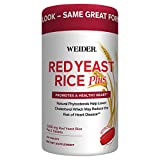 Best Red Yeast Rice - Weider Red Yeast Rice Plus with Phytosterols 1200 Review
