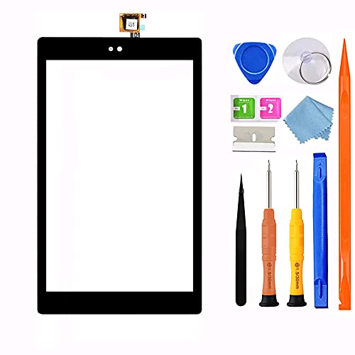 Original Quality Screen Replacement for Amazon Kindle Fire Tablet HD 8 8th Gen 2018 Released L5S83A, 8th Generation Touch Screen Digitizer + Full Repair Kit
