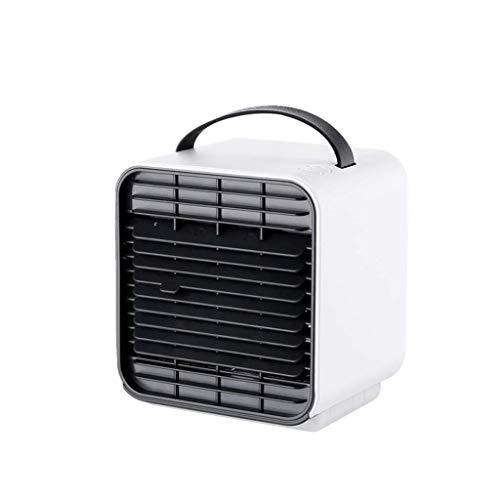 Refrigerador de aire, purificación de aire pequeño USB Ventilador de enfriamiento de conducción, ventilador de aire acondicionado de iones negativos adecuado para oficina compartida (color: a) Enfriad