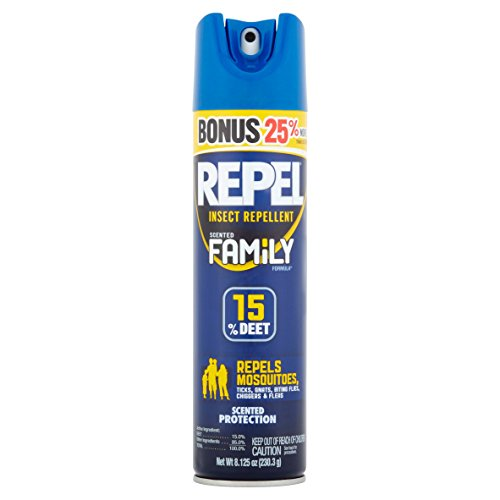 Price comparison product image Repel Insect Repellent,  15% Deet Family Scented Formula,  8.125-Ounce - 1 Count