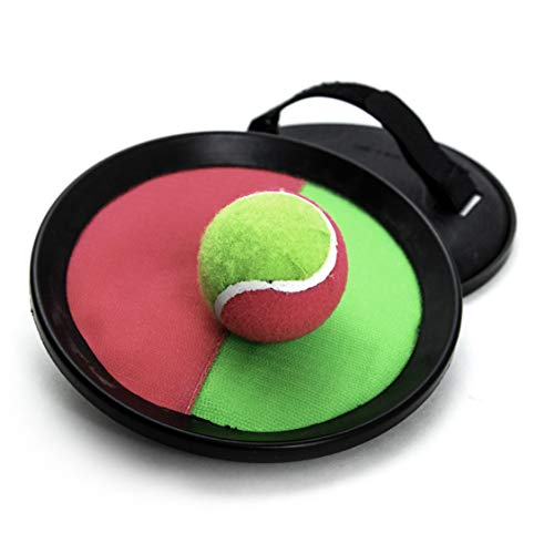 Pro Impact Catching Game Set - 2 Player Toss and Catch Paddle Sports - Fun Indoor/Outdoor Interactive Game - for Kids Teens & Adults