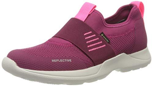 Superfit Jungen Mädchen Rush Gore-Tex Sneaker, ROT/ROSA, 34 EU