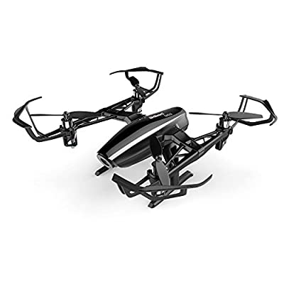 UDI RC Eagle Drone with Wide Angle 720P HD Camera Virtual Reality Mode Real time FPV WiFi Quadcopter with Headless Mode, Return to Home, Bonus Extra Battery