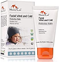 Mommy Care Cold Weather Baby Child Organic Facial Protective Winter Balm Soothing Cold Sores Cream to Hydrate Moisturize Newborns Kids Sensitive Dry Skin Wind Block Lotion 50ml/1.76 fl.oz