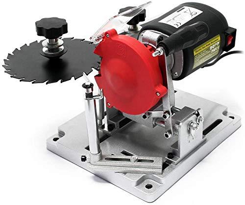 Hoja de sierra circular, afiladora de hoja de sierra – Bench montaje 110 W