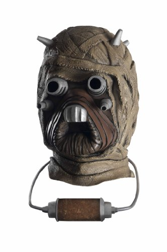 STAR WARS Tusken Raider Deluxe Overhead Costume Latex Mask Adult One Size