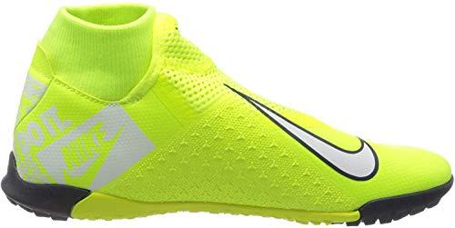Nike Men's Soccer Phantom Vision Academy Dynamic Fit Turf Shoes (Volt, Numeric_10_Point_5)