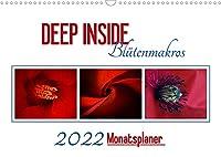 DEEP INSIDE - Bluetenmakros als Monatsplaner (Wandkalender 2022 DIN A3 quer): Tief eintauchen in die farbenpraechtige Welt der Blueten. (Geburtstagskalender, 14 Seiten )