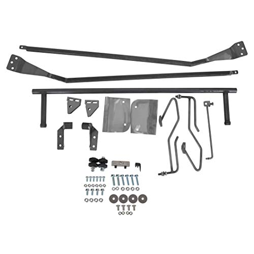 7BLACKSMITHS Hood Tilt Flip Kit Stainless Combo Conversion Kit Fit for 1953-1956 Ford F-100 Truck