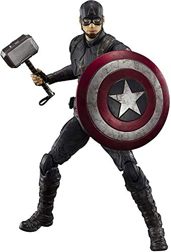 TAMASHII NATIONS S.H. Figuarts Captain America -Final Battle Edition - Avengers: Endgame, Multi