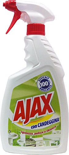 12 x AJAX Spray Con Candeggina Trigger 750 Ml