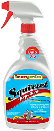 I Must Garden Squirrel Repellent: Protects Vehicles, Plants, Decking, & Furniture – Works on Chipmunks – 32oz Ready to Use