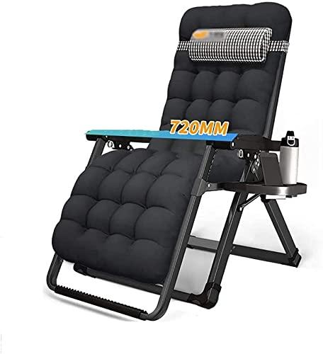 Anti-pesada silla al aire libre silla de salón grasschair tumbonas silla plegable casa balcón sola sol silla de playa portátil al aire libre, ligero, carga 200kg