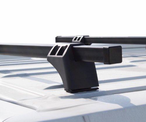 VDP XL Pro 200 Dachträger Lastenträger 200kg kompatibel mit FIAT Scudo ab 2007 2 Stangen