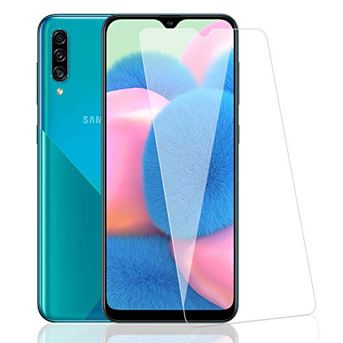 Zsmzzd Protector de Pantalla para Samsung Galaxy A30S/M30S/A50/M31/M21,3 Piezas Cristal Templado,9H Dureza,HD Transparente, Anti-Burbujas,Anti-aArañazos, Alta Sensibilidad Vidrio Templado