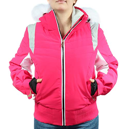 LUHTA dames winter jas roze/wit 232436535L7