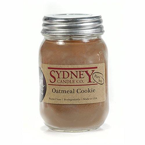 Sydney Candle Co. - Oatmeal Cookie - Mason Jar Candle - (15.5 oz)