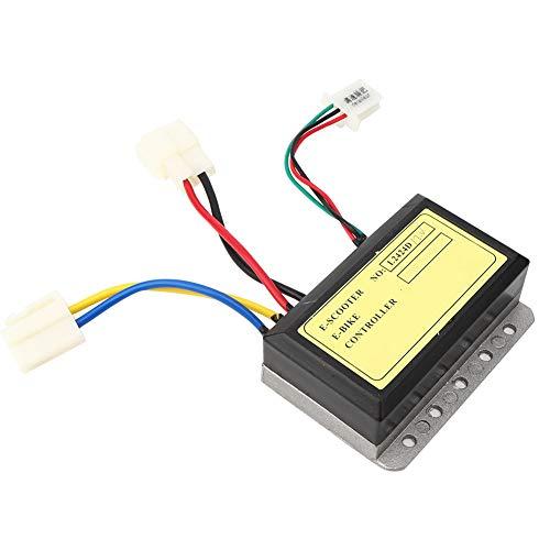Semiter 【𝐖𝐞𝐢𝐡𝐧𝐚𝐜𝐡𝐭𝐬𝐠𝐞𝐬𝐜𝐡𝐞𝐧𝐤】 ABS Stable Performance Brush Motor Controller, Brush Speed Controller, für D-Olphin Elektroroller Elektrofahrradzubehör