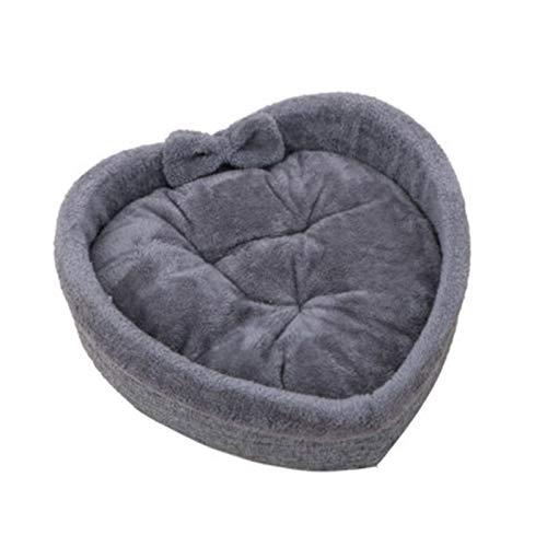 cuccia Pet Universal Dog Bed Stampa Stampa Pet a forma di cuore Kennel Super Soft Cotton Cotton Velvet invernale caldo Pet Cat Nest Inverno Dog Bed Bed Cat Nest dormire ( Color : A , Size : 50x16cm )