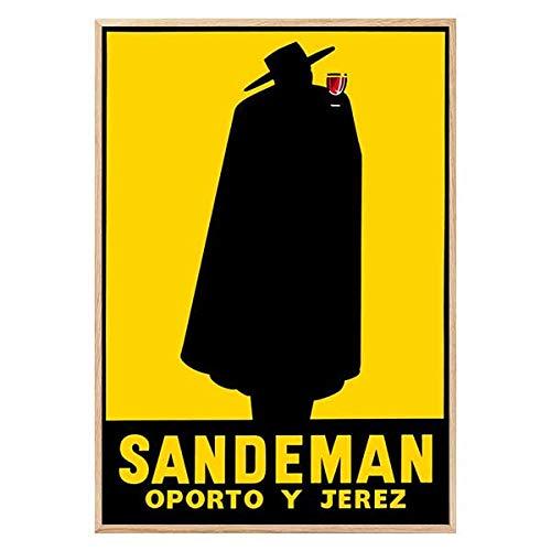 Póster Vintage Sandeman (1920) - Decoración Cuadros Pared - Poster Decorativo -...