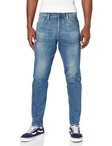 G-STAR RAW Scutar 3D Slim Jeans, Faded Spruce C300-c084-Reloj de Pulsera, 36W / 34L para Hombre