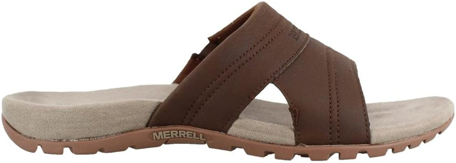 Merrell Men's, Sandspur Rift Sandals Slate Black 11 M