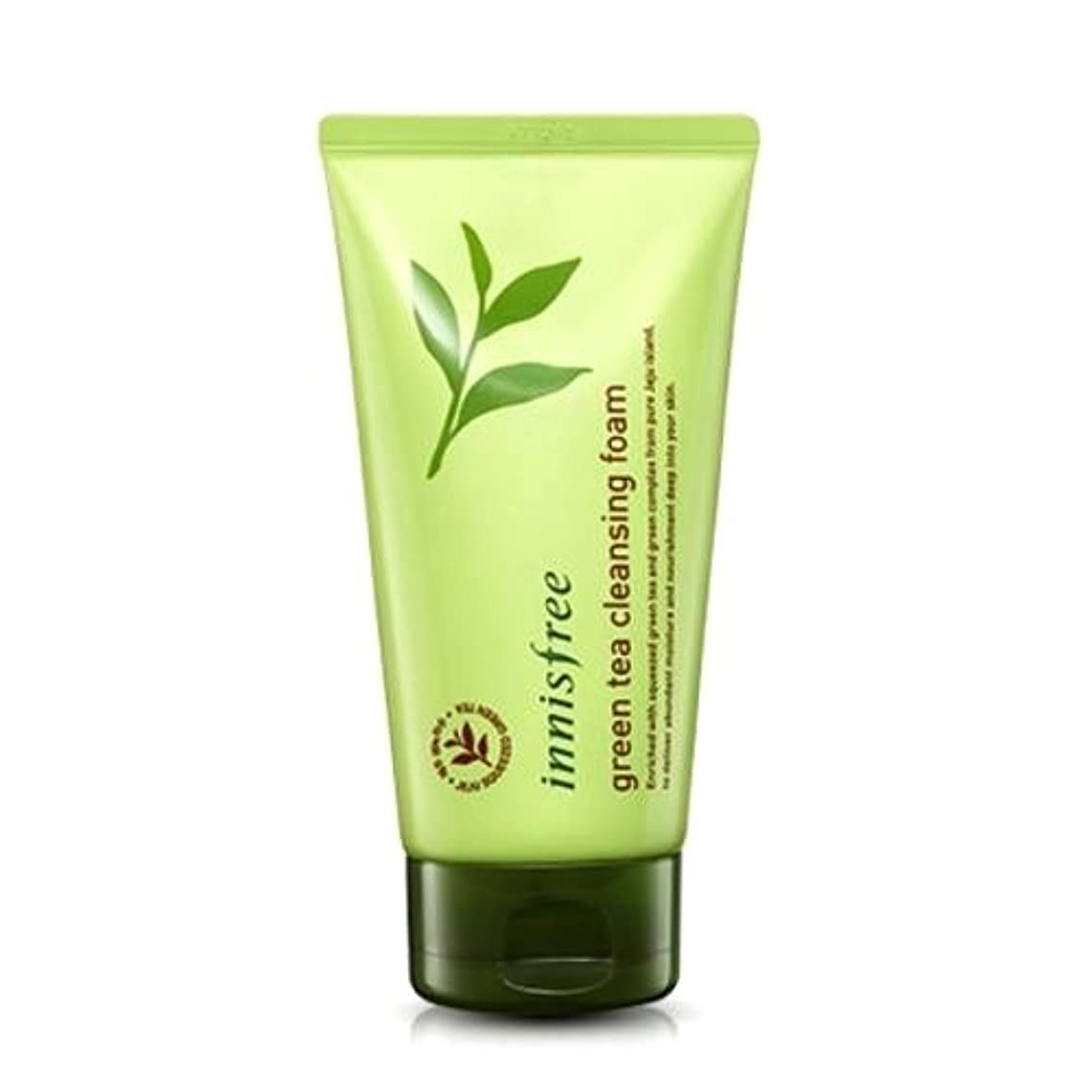 宿励起不快(6 Pack) INNISFREE Green Tea Cleansing Foam (並行輸入品)