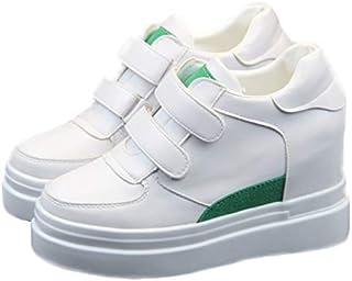 [ディーハウ]スニーカー レディース インヒール ー 厚底 カジュアル 通学 通勤 インヒールスニーカー 運動靴 シークレットシューズ ヒールアップ 軽量 美脚 疲れにくい シューズ ウォーキングシューズ 歩きやすい ファション