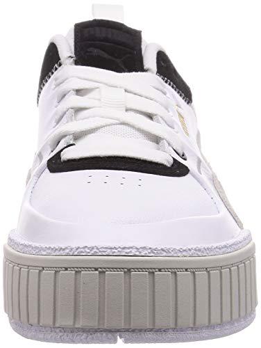 PUMA Cali Sport Mix Wn's, Zapatillas Mujer, Blanco White Black, 37 EU
