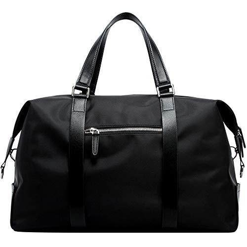 Sport Gym Bag Men's Fitness Bag Casual Handbag Travel Tote Waterproof Bag Large Capacity Shoulder Travel Bag for Sport Traveling Swimming Yoga Hiking Camping (Color : Dark Blue, Size : 44x18x26cm)