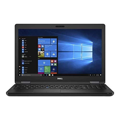 Notebook Dell 5580 15,6  Intel Core i5-6300U 2,40GHz 8GB Ram 240GB SSD Win 10 Pro - Grado B - Webcam