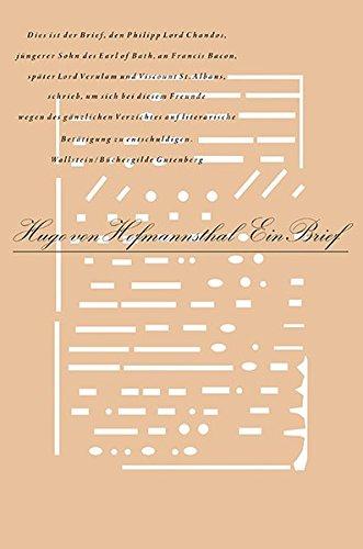 Ein Brief (Typographische Bibliothek)