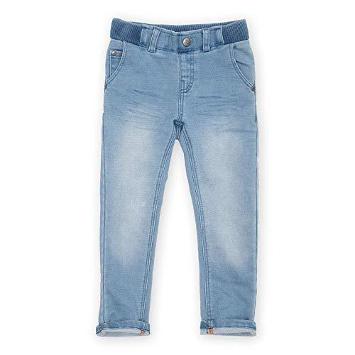 Sigikid Mädchen Mini Sweat Denim Klecks, Größe 098-128 Jeans, Hellblau, 122