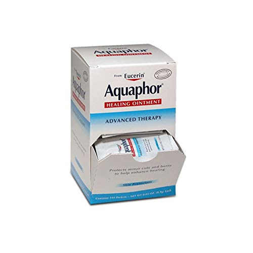Aquaphor - 22428 Healing Ointment Advanced Therapy - .9g - Box of 144 Packets