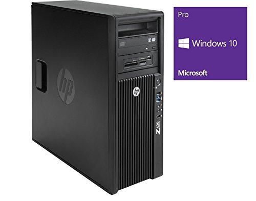 HP Workstation Z420 MT - Xeon E5-1620v2 @ 3,7 GHz - 16GB RAM - 256GB HDD - DVD-ROM - Quadro K4000 - Win10Pro (Zertifiziert und Generalüberholt)