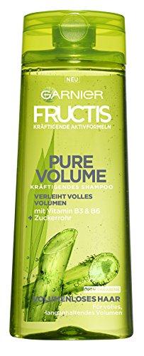 Garnier Fructis Pure Volume Kräftigendes Shampoo, für volles, langanhaltendes Volumen, ohne Parabene, 6er-Pack (6 x 250 ml)