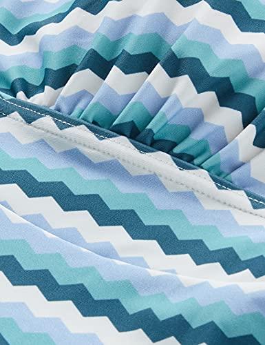 Esprit Maternity Swimsuit AOP Traje de Bao de una Sola Pieza, Azul claro-443, XS para Mujer