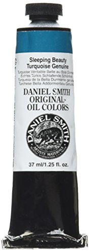 DANIEL SMITH Original Oil Color Paint, 37ml Tube, Sleeping Beauty Turquoise Genuine, 284300115