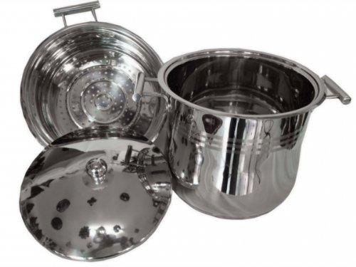 Unbekannt Couscous Topf/Dampfgarer 8 Liter