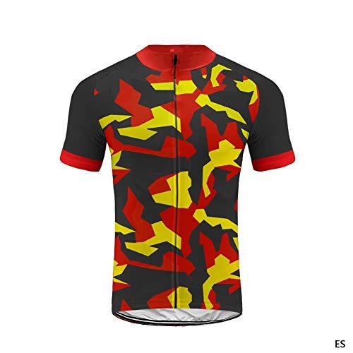 Uglyfrog Camisa de Ciclismo para Hombre de Manga Corta Respirable para Hombre Camisa de Ciclismo Tops de Ciclismo para Bicicleta DXMX04F