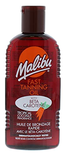 Malibu Fast Tanning Oil with Carotene 200 ml
