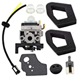 USPEEDA Carburetor for Husqvarna 531008681 Select 224L 324RX 324 HDA 55X Carb Tuneup Kit