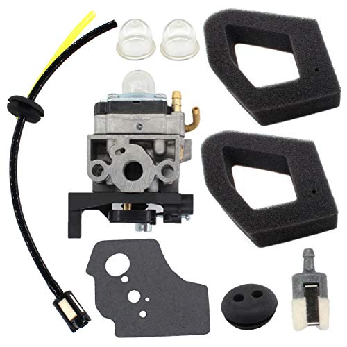 USPEEDA Carburetor for Husqvarna 531008681 Select 224L 324RX 324 HDA 55X Carb Tuneup Kit