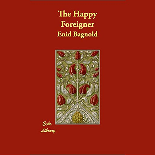 The Happy Foreigner  audiobook cover art