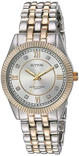 Sutton by Armitron Reloj de Vestir (Modelo: SU/1020SVTT)