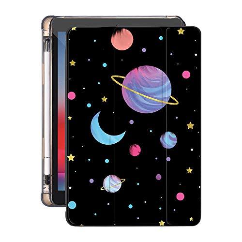 MENGYI Cubierta de la Caja de la Tableta Espacio SUEÑO para EL Aire 4 iPad Pro 12.9 Caja con el Titular de Lápiz 10.2 8.2O 2020 7mo Mini 5 Air 2 Fuera DE Silicona Pro 11 10.5 Air 3