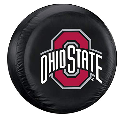 Fremont Die NCAA Ohio State Buckeyes Tire Cover, Standard Size (27-29