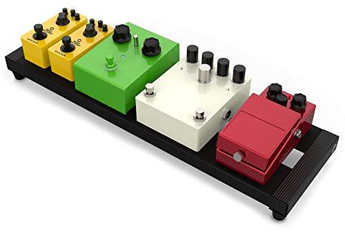 Monkey Loop - Spider 50 - Pedalera Guitarra Eléctrica o Acústica - Soporte para Pedales de Efectos - Fabricada en Aluminio - Excelente Fijación - Funda de Transporte - Accesorios para Guitarra