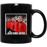 Nost-algia Store Star Movie #Trek The #Walking #Dead James #TKirk Spock #Leonard McCoy Funny Meme Costume Movie FilmCoffee Mug Gift for Women and Men Tea Cups